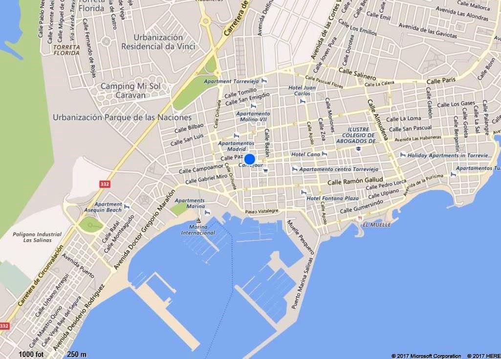 Karta Fran Alicante Till Torrevieja.Spanien Torrevieja 20 25 Mars 2017