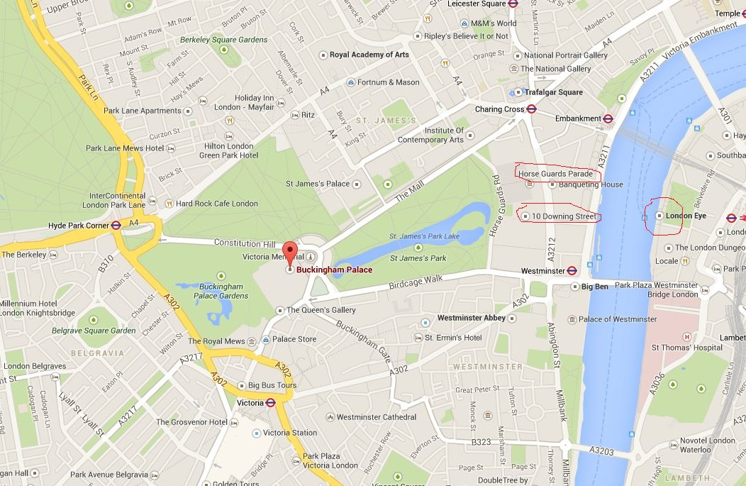 london karta Karta Londona   London london karta